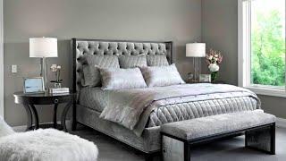 65 Grey Bedroom Ideas #2