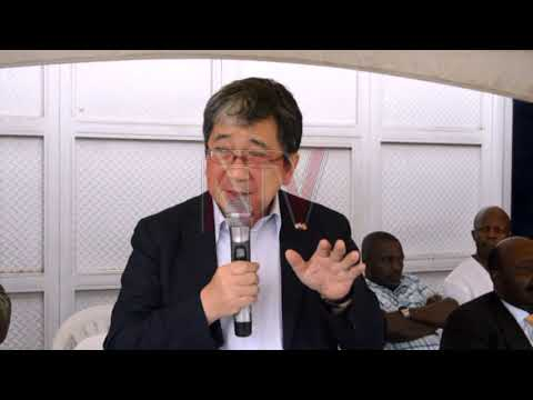 Japanese ambassador encourages formation of cooperatives