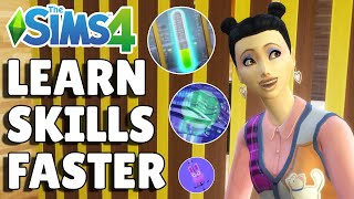 8 Ways To Learn Skills Faster Without Cheats | The Sims 4 Guide