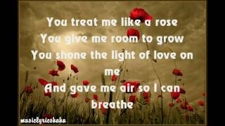 [HD] A1   Like A Rose With Lyrics
