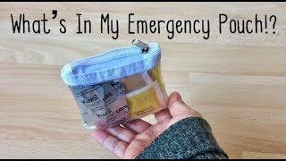 Requested Video: Whats In My Everyday Emergency Kit / Pouch