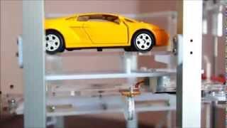 otomatik otopark sistemi automated car parking