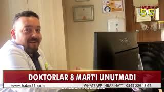 BAFRA'DA DOKTORLARDAN ANLAMLI VİDEO