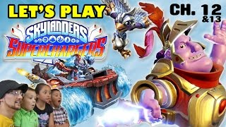 Lets Play SKYLANDERS SUPERCHARGERS: Hot Streak & Stormblade (Chapter 12 & 13 CLOUD KINGDOM)