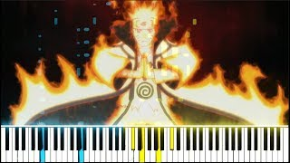 """Spin And Burst"" / ""Reverse Situation"" - Boruto Episode 65 OST (Synthesia Piano Tutorial)"