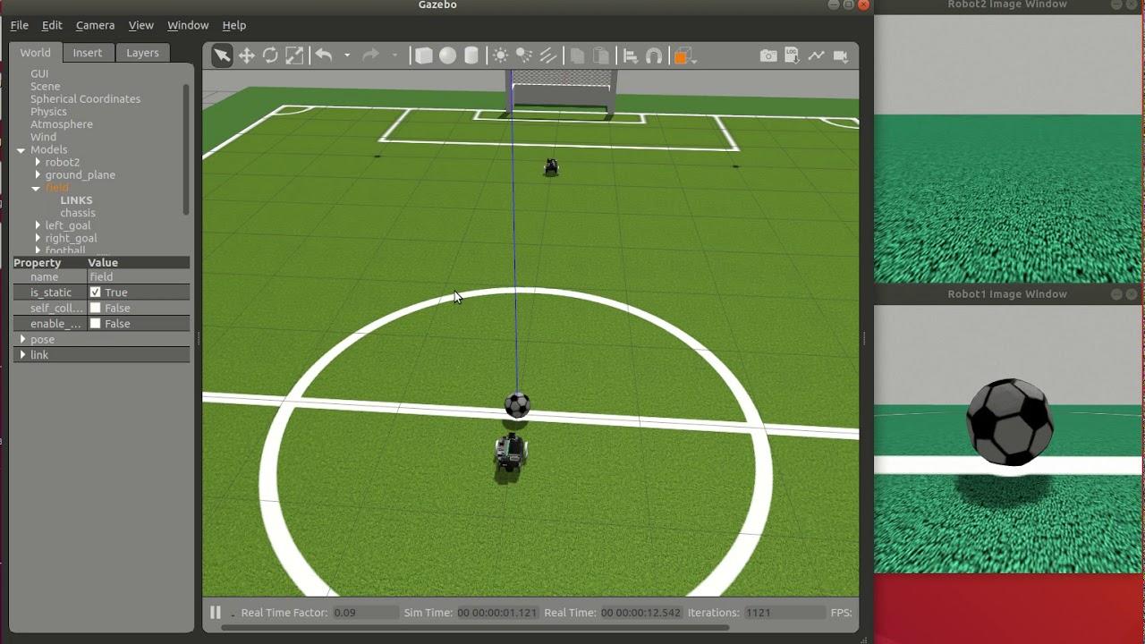 Jetbot soccer test3