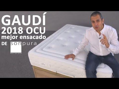 colchón Gaudí Sonpura 2018, mejor colchón OCU muelles ensacados