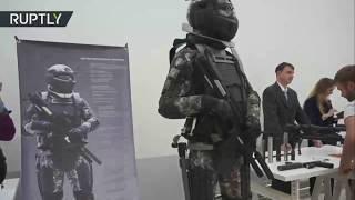 Российские военные показали боевой костюм будущего
