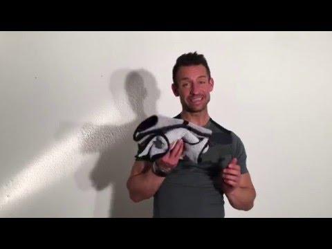 Home Fitness  Handtuch Workout Fitnessübungen zuhause - Arne Derricks