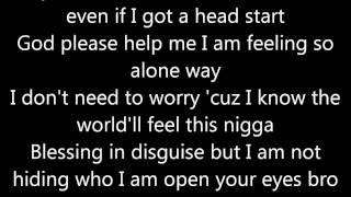 "Video thumbnail of ""Kid Cudi- The Prayer with lyrics"""
