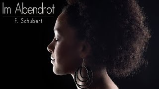 """Melanie Forgeron singt """"Im Abendrot"""" von Franz Schubert"""