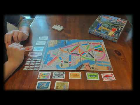 BoardRoom Gaming - Ticket To Ride New York