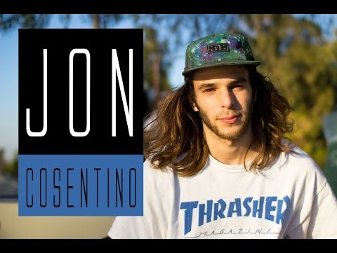 WARMING UP WITH JON COSENTINO - NORTH HOLLYWOOD SKATE PLAZA
