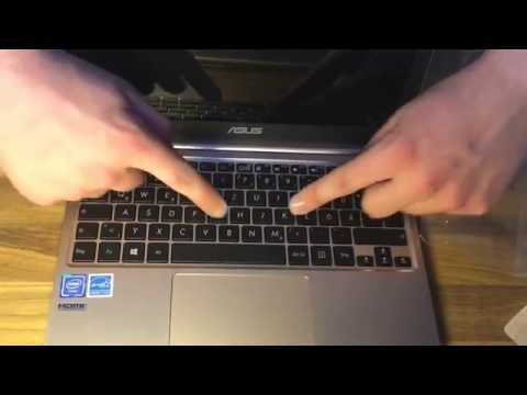 Asus E200HA-FD0004TS 29,4 cm (11,6 Zoll Glare Type) Notebook unboxing und Anleitung