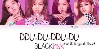 Blackpink 뚜두뚜두 Ddu Du Ddu Du With English Rap Lyrics Engromhan