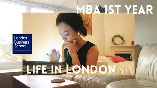 Feb 2020   Life in London 🇬🇧   A Week of An LBS MBA Student    First Ever Vlog!