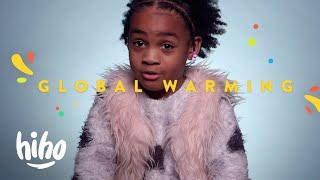 100 Kids Explain Global Warming | HiHo Kids