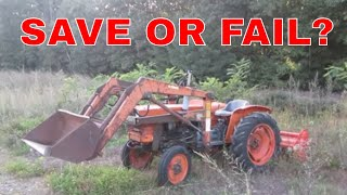 Ratty Kubota Left For Dead, Will It Come Back Life?
