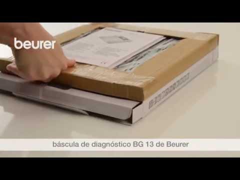 Vídeo de instrucciones de la báscula de vidrio para diagnóstico BG 13