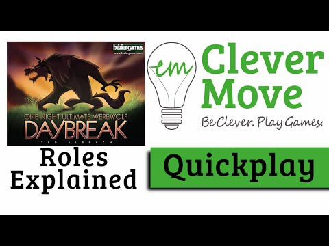 How to Play One Night Ultimate Werewolf Daybreak