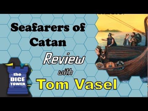 [Video Review] Catan: Seafarers