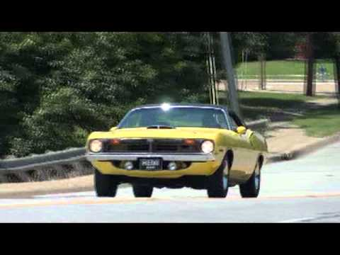 1970 Plymouth HEMI Cuda  American Muscle Car Legend