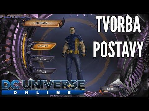 JAK SI VYTVOŘIT POSTAVU | DC Universe Online