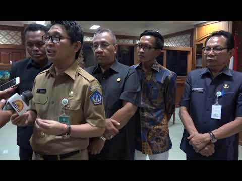 PENERIMAAN RANCANGAN APBD KABUPATEN BADUNG TAHUN 2019