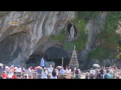 Chapelet du 25 juillet 2020 à Lourdes