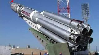 Подготовка к пуску ракеты-носителя Протон-М