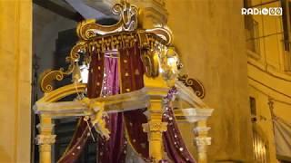 Le immagini del rientro della Processione di Gala nella Chiesa del Purgatorio.