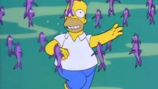 Canción En el fondo del mar | Los Simpson