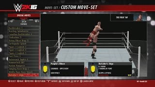 WWE 2K16: Hall of Fame Showcase DLC Pack Moves & Taunts