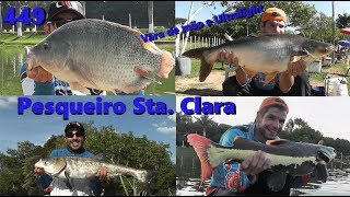 Pescaria leve no Pesqueiro Santa Clara - Fishingtur na TV 449