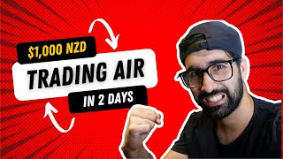 NZ DAY TRADER MAKES A $1000 IN A DAY !!