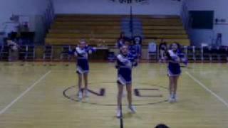 Sharp (&cute) Floor Cheer!