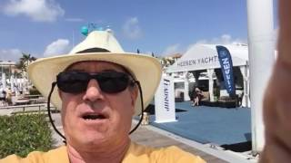 Entrance to 2017 Palm beach Boat Show