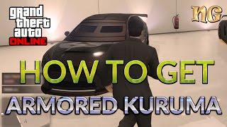 GTA 5 Online: How to get Kuruma Armored version