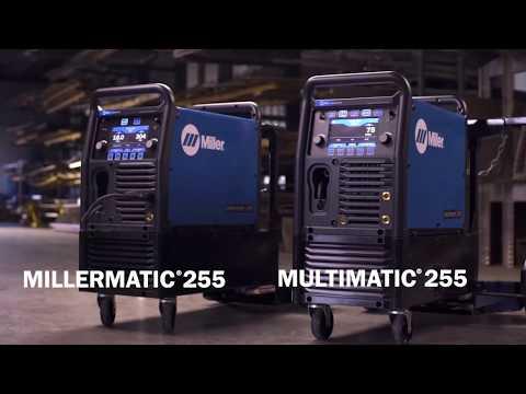 Miller Multimatic-255 MIG Welding Machine,  20-350A