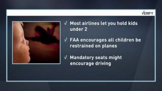 VERIFY: Is it dangerous for babies to sit in laps on planes?