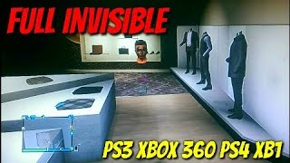 GTA 5 Online INVISIBLE BODY GLITCH PS3 XBOX 100% WORKING