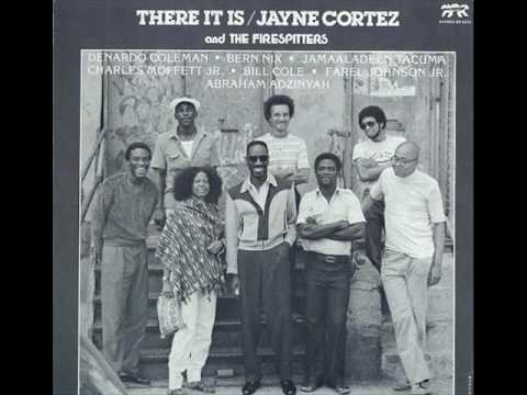 jayne cortez and the firespitters - there it is online metal music video by JAYNE CORTEZ