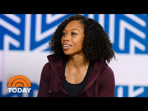 Allyson Felix Talks Maternity Leave And Challenges Of Female Athletes | TODAY