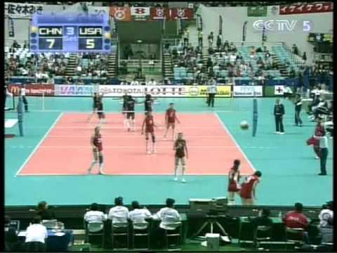 WC2003世界盃女排賽→中國vs美國