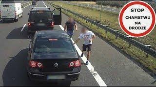 Szeryf  w Vanie na S7 - zajechał drogę i wyhamował VW-gena #111 Wasze Filmy