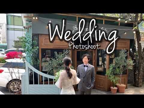 Chụp hình cưới ở Hàn Quốc như thế nào | [Hẹn hò yêu đương ở Hàn Quốc] - Vlog 9