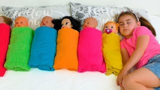 Alika Pretend Play with Dolls, Are you sleeping brother John by GLOBIKI