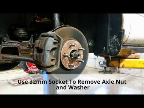 Replace Front Wheel Bearing / Hub  Ford Taurus / Mercury Sable