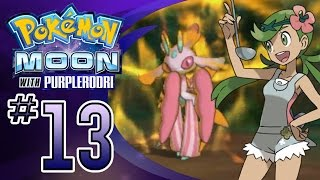 Mallow  - (Pokémon) - Let's Play Pokemon: Sun and Moon - Part 13 - Captain Mallow's Trial!