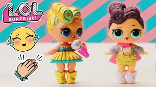 LOL Surprise!   Stop Motion Dance Competition Cartoon   Baby Doll Surprise Toys